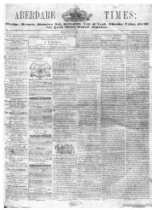 Thumbnail of a page from The Aberdare Times