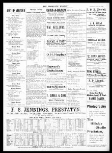 Gronant Road |1907-06-29|Prestatyn Weekly - Welsh Newspapers