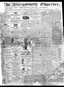 Thumbnail of a page from The Aberystwith Observer
