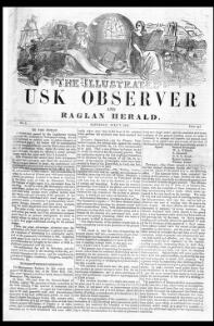Thumbnail of a page from The Illustrated Usk Observer and Raglan Herald
