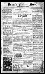 Thumbnail of a page from Potter's Electric News