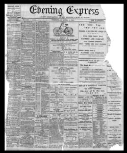 Thumbnail of a page from Evening Express