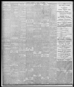FUNERAL OF THE REV  LEWIS JONES, PENTRE |1893-01-17|Evening Express