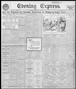 FOR A WELSH SCIENTIST |1895-02-16|Evening Express - Welsh Newspapers