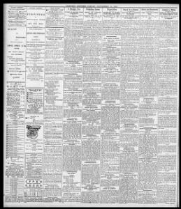HEALTH OF DEAN VAUGHAN |1896-09-11|Evening Express - Welsh