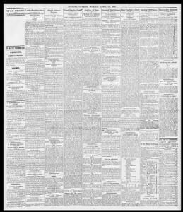 TO-DAY'S MARKETS,|1899-04-17|Evening Express - Welsh