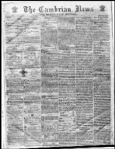 Thumbnail of a page from The Cambrian News and Merionethshire Standard