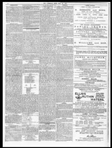 LLANWNEN  1878-05-24 The Cambrian News and Merionethshire Standard