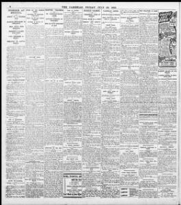 ARREST OF A SWANSEA MAN |1910-07-29|The Cambrian - Welsh