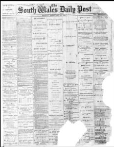 Thumbnail of a page from The South Wales Daily Post
