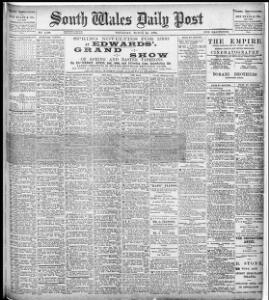 Advertising|1898-03-31|The South Wales Daily Post - Welsh Newspapers