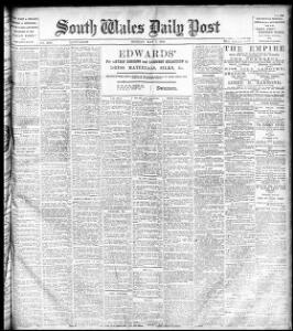 Advertising 1900-05-07 The South Wales Daily Post - Welsh