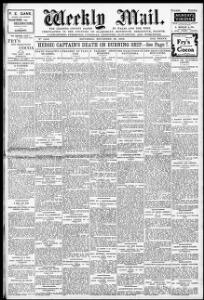 A LOVE ROMANCE |1908-11-28|Weekly Mail - Welsh Newspapers