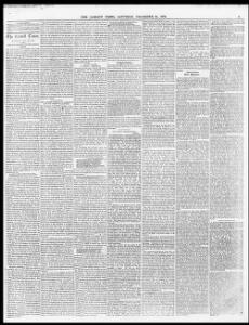 OUR LONDON CORRESPONDENT |1870-12-24|The Cardiff Times