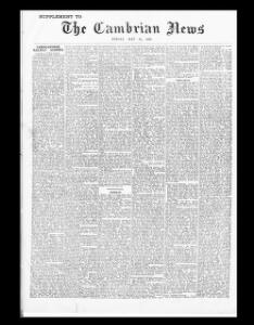 CARDIGANSHIRE RAILWAY SCHEMES|1906-05-18|The Cambrian News