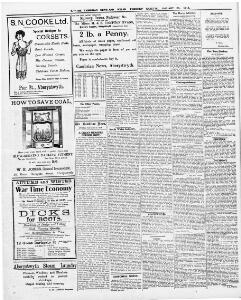 The Horse Scheme  ---I 1918-01-25 The Cambrian News and