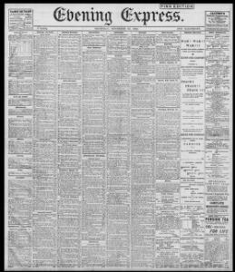 Advertising 1899-11-30 Evening Express - Welsh Newspapers