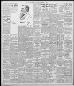 OFFICIAL BULLETIN |1901-09-07|Evening Express - Welsh Newspapers