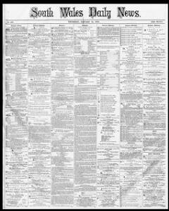 Advertising|1873-01-16|South Wales Daily News - Welsh Newspapers
