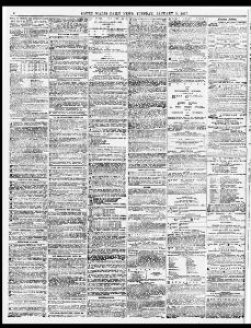 Advertising 1877-01-09 South Wales Daily News - Welsh Newspapers
