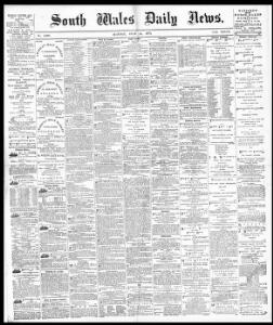 Advertising|1879-07-14|South Wales Daily News - Welsh Newspapers