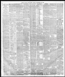 3RTH OF ENGLAND REPORT |1879-09-26|South Wales Daily News