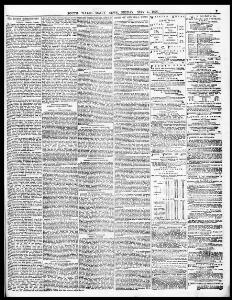 j— OUR LONDON CORRESPONDENT  |1876-05-05|South Wales Daily