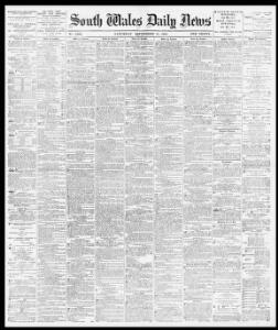 Advertising 1881-09-17 South Wales Daily News - Welsh