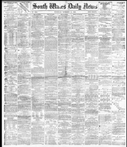 Advertising 1882 10 10 South Wales Daily News Welsh