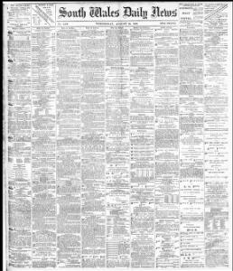 Advertising 1883-08-22 South Wales Daily News - Welsh