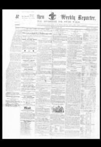 Thumbnail of a page from The Carmarthen Weekly Reporter