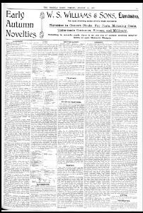 Advertising|1907-08-30|The Weekly News and Visitors