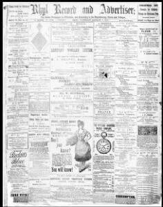 Thumbnail of a page from Rhyl Record and Advertiser