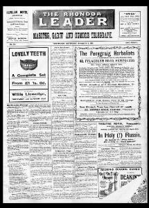 Thumbnail of a page from Rhondda Leader Maesteg Garw and Ogmore Telegraph
