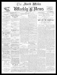 Thumbnail of a page from The North Wales Weekly News
