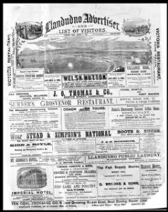 Thumbnail of a page from Llandudno Advertiser and List of Visitors