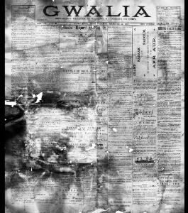 Thumbnail of a page from Gwalia
