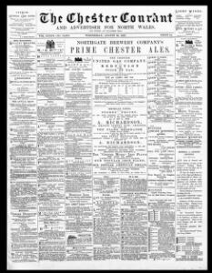 Thumbnail of a page from The Chester Courant and Advertiser for North Wales