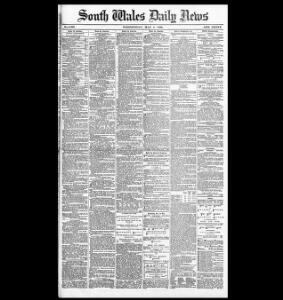 Advertising 1889-05-08 South Wales Daily News - Welsh