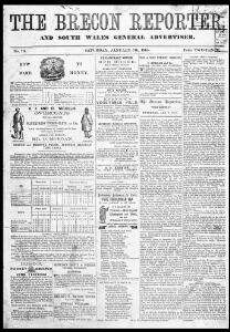 Thumbnail of a page from The Brecon Reporter and South Wales General Advertiser