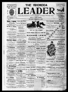 Thumbnail of a page from The Rhondda Leader