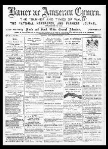 Thumbnail of a page from Baner ac Amserau Cymru