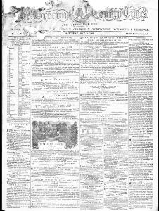 Thumbnail of a page from The Brecon County Times Neath Gazette and General Advertiser for the Counties of Brecon Carmarthen Radnor Monmouth Glamorgan Cardigan Montgomery Hereford