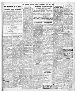 ICINE SHORTAGE CAUSES RISE IN PRICES |1915-07-22|The Brecon