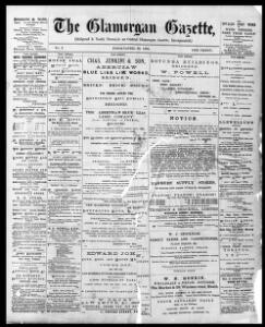 Thumbnail of a page from The Glamorgan Gazette