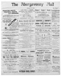 Thumbnail of a page from The Abergavenny Mail