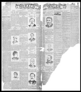 Thumbnail of a page from Herald of Wales and Monmouthshire Recorder