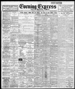 Advertising 1903-12-19 Evening Express - Welsh Newspapers Online