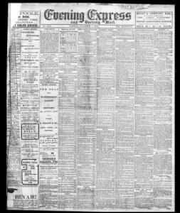 Advertising 1904-11-01 Evening Express - Welsh Newspapers