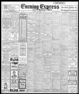 Advertising 1904-11-11 Evening Express - Welsh Newspapers